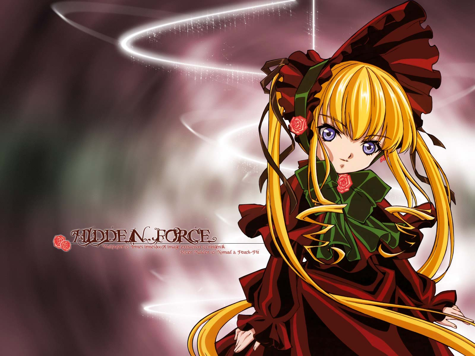 Rozen Maiden manga wallpaper